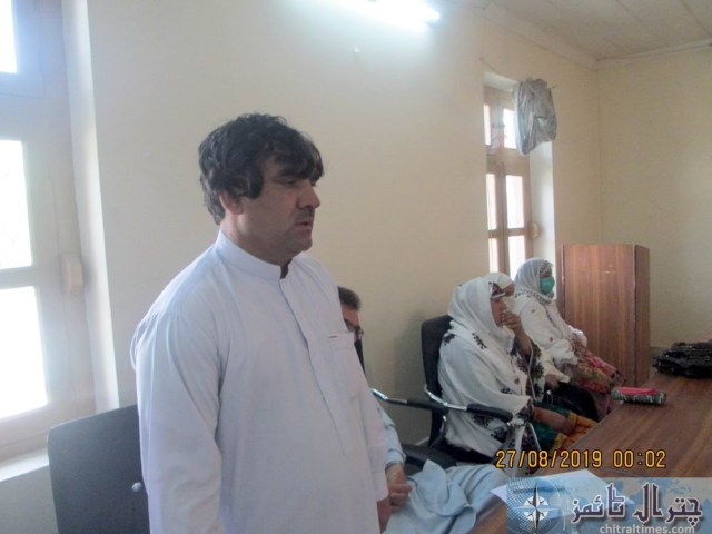 Tehsil council Mastuj last meeting 5