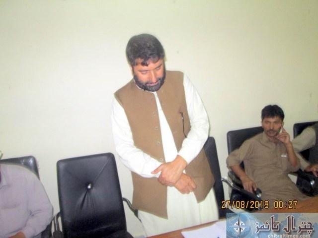 Tehsil council Mastuj last meeting 6