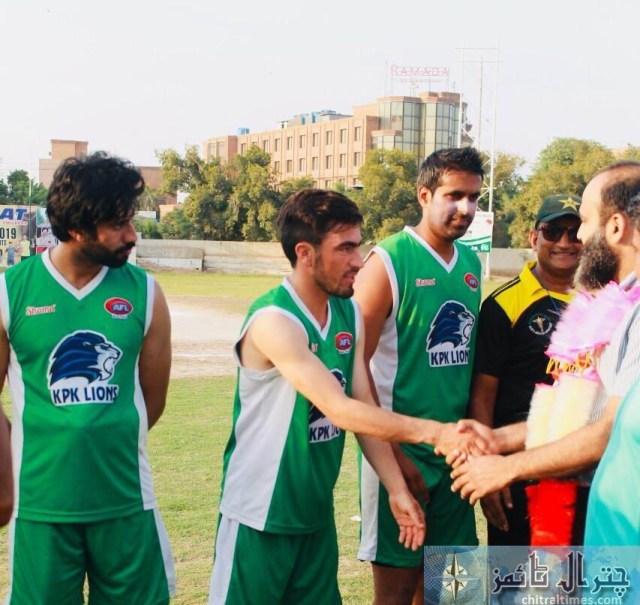 Chitrali footballer of KP lines 4
