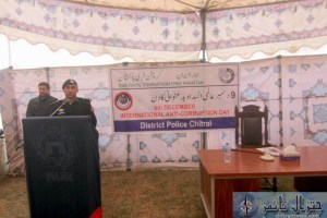 chitral police hold anti corruption day 9th dec 3