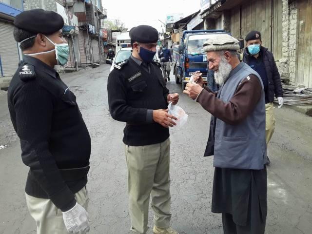 chitral police awarness program 1