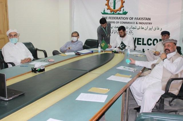 پشاور ; سینیٹر غلام علی کی زیر صدارت مرحوم صادق آمین کی وفات پر تعزیتی اجلاس