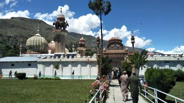 shahi masjid chitral eid pray
