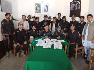 Chitral police recovered 15kg afyon scaled