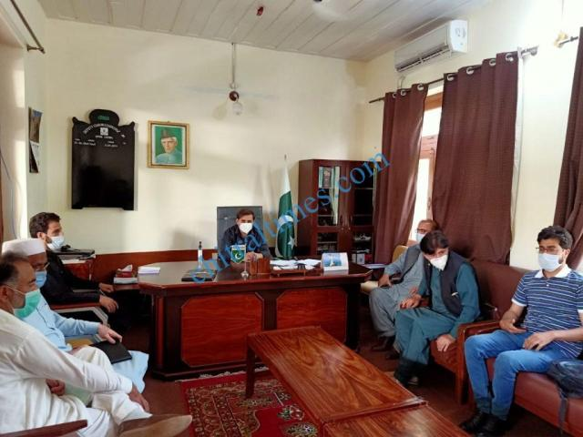 adc upper chitral meeting on telenor 1 1
