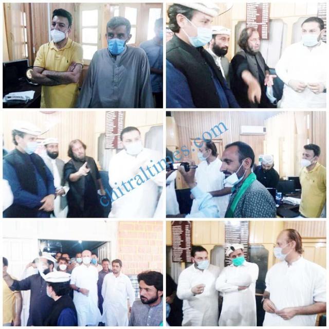 ahmad khan niazi visit to chitral 2