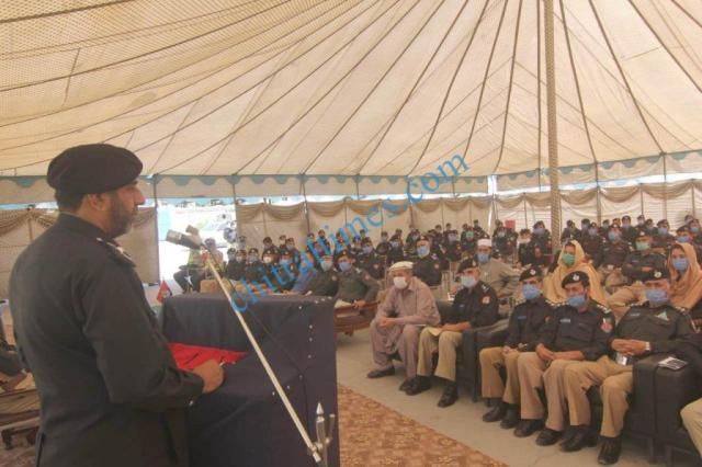 dpo chitral meeting with police jawans2
