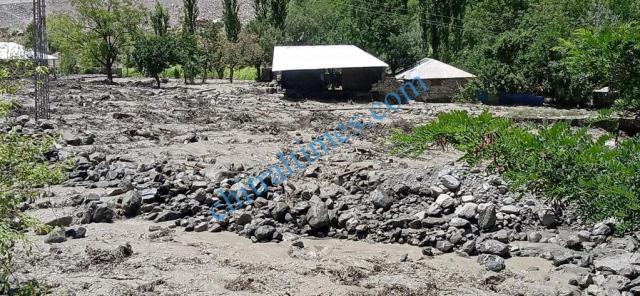 golen flood damages