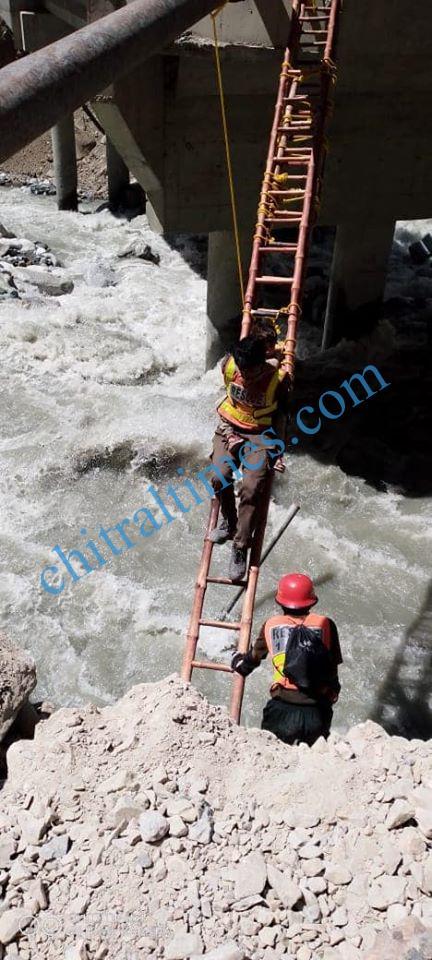 golen flood damages chitral 1