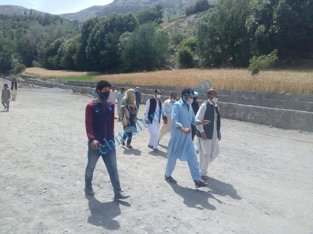 pologround kosht rehabilitation works started upper chitral