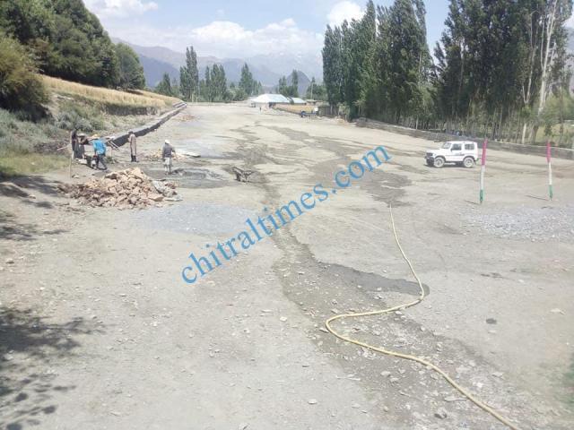 pologround kosht rehabilitation works started upper chitral7