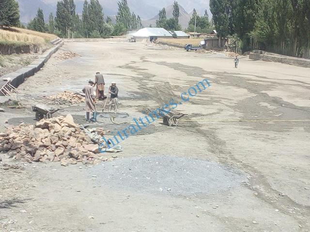 pologround kosht rehabilitation works started upper chitral8