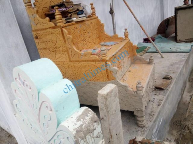 Reshun flood damages 2020 10