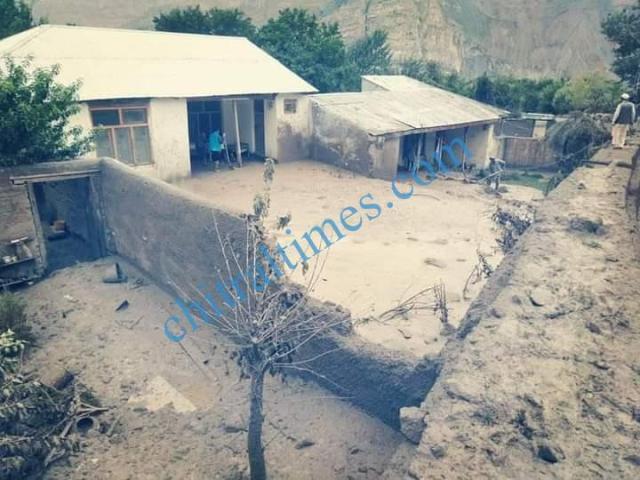 Reshun flood damages 2020 8