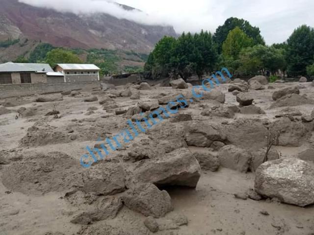 Reshun flood damages 2020 9