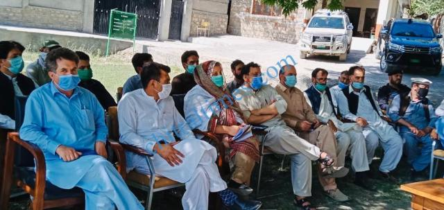 adc upper chitral meeting on glof1