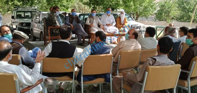 adc upper chitral meeting on glof3