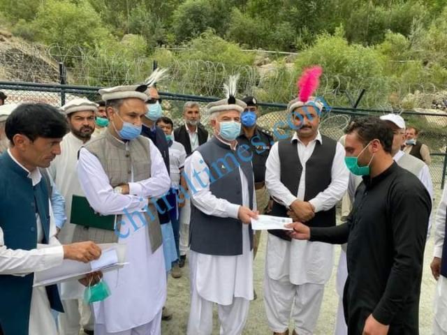 CM Chitral visit Reshun Golain 11 1