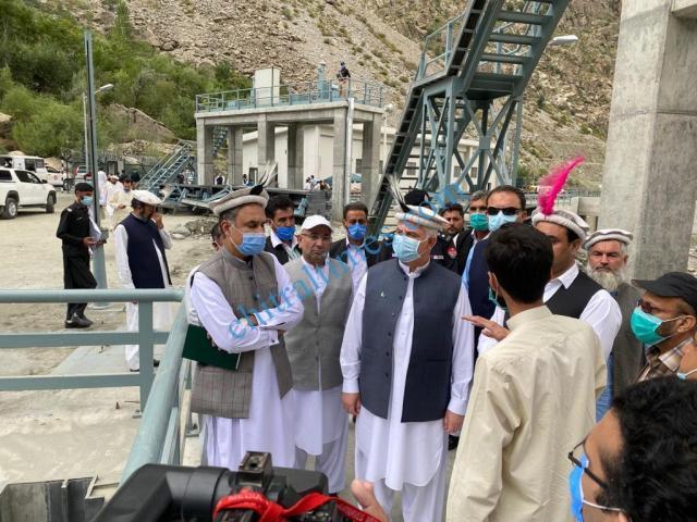 CM Chitral visit Reshun Golain 22