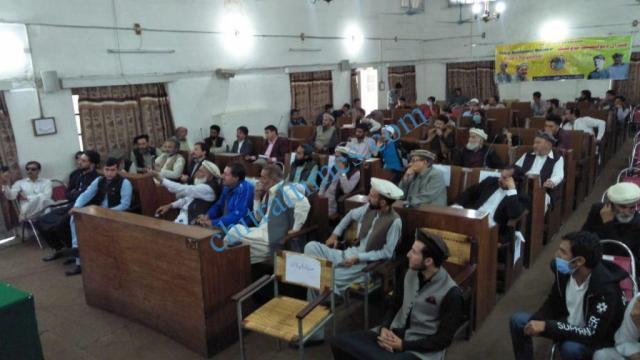 chitral development forum meeting gathering