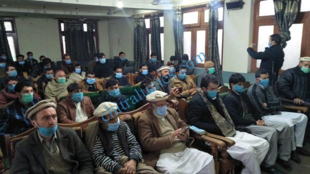 CDM waqas adv chitral press confrence 1
