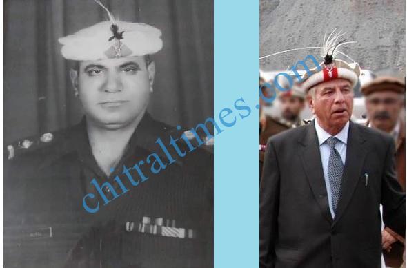 col murad and shahzada mohiuddin chitral
