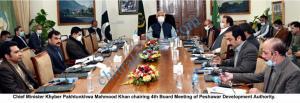 CM kp mahmood khan chaired meeting peshawar development authority scaled