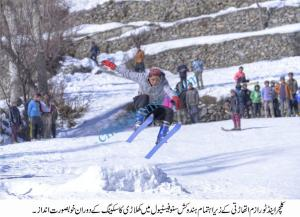 Chitral three days Snow sports festival concluded here in Madaklasht Chitral pic by Saif ur Rehman Aziz 3 scaled