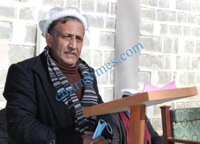 akah water project inaugurated chitral 1