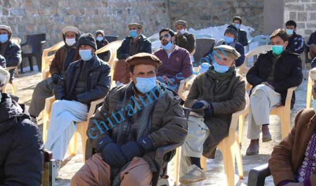 akah water project inaugurated chitral 4