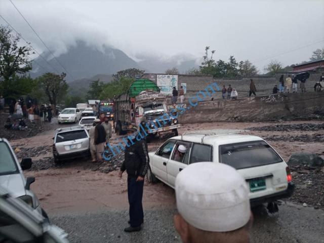 kaldam drosh road block