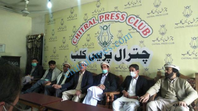 ppp chitral saleem khan press confrence