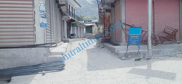 Booni bazar lock down upper chitral 1