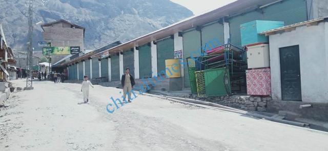 Booni bazar lock down upper chitral 2