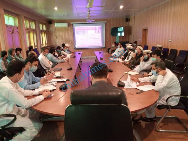 پولیو کے خاتمے کیلئے ضلعی کمیٹی (ڈپیک ) کا ڈپٹی کمشنرچترال لوئر کے زیر صدارت دوبارہ اجلاس