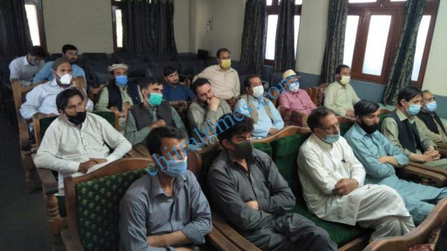 hotel association chitral press confrence2
