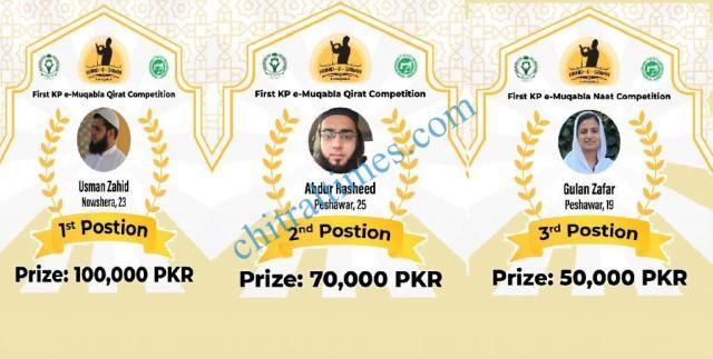 naat competition kp online winners