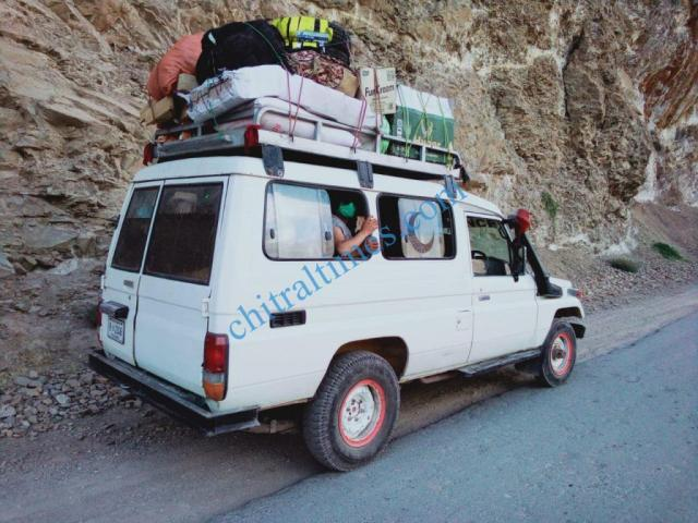upper chitral crackdow aganist transporters3