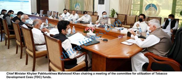 CM meeting on tdc kp