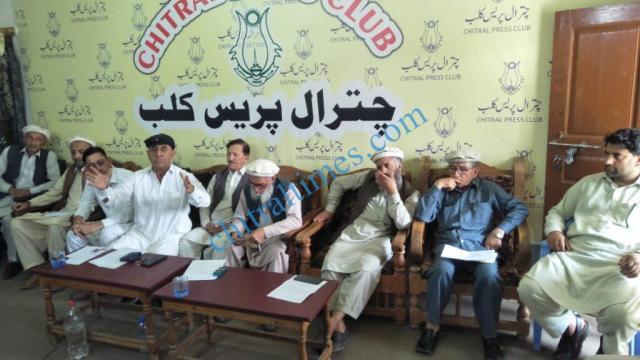 chitral times Sartaj ahmad khan press confrence