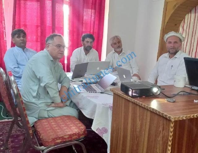 chitraltimes FLI khowar workshop chitral