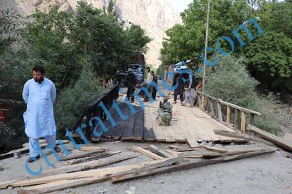chitraltimes garamchashma road bridges repaired nha 2