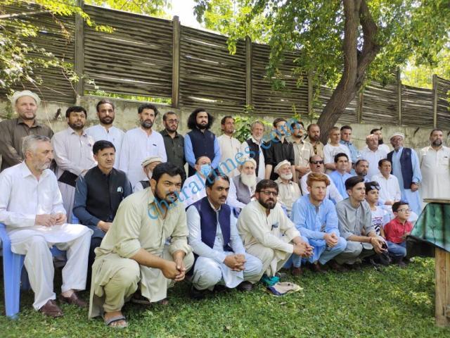 chitraltimes sadiqullah sadiq taziati ijlas chitral press club