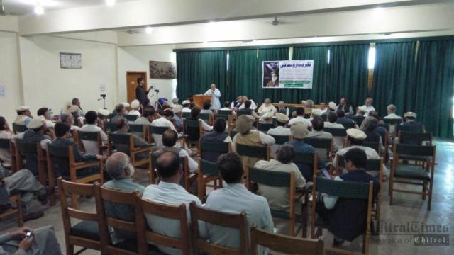 chitraltimes book launching shahzada Hisamul mulk5
