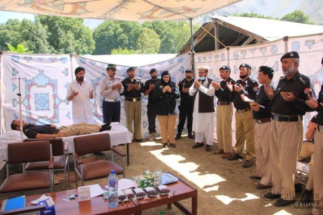 chitraltimes shuhada police chitral program