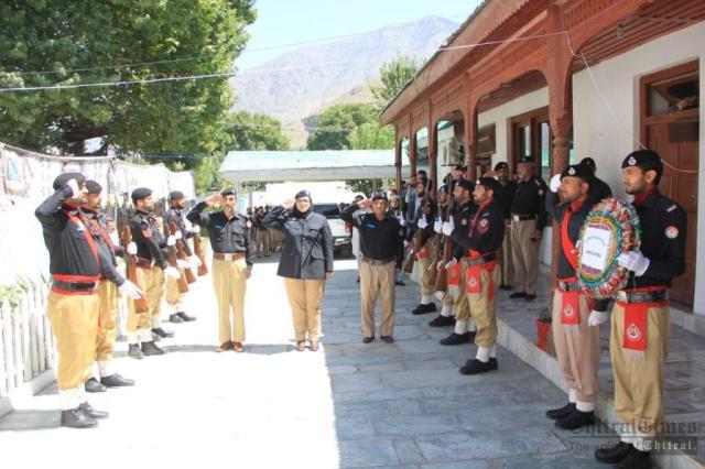 chitraltimes shuhada police chitral program2