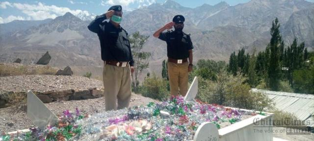 chitraltimes upper chitral police shuhada taqreeb6