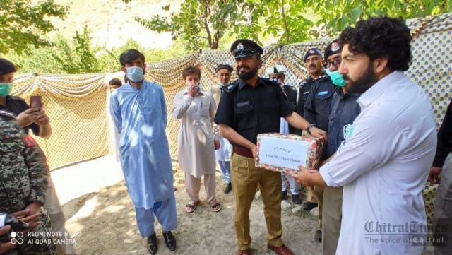 chitraltimes upper chitral police shuhada taqreeb8