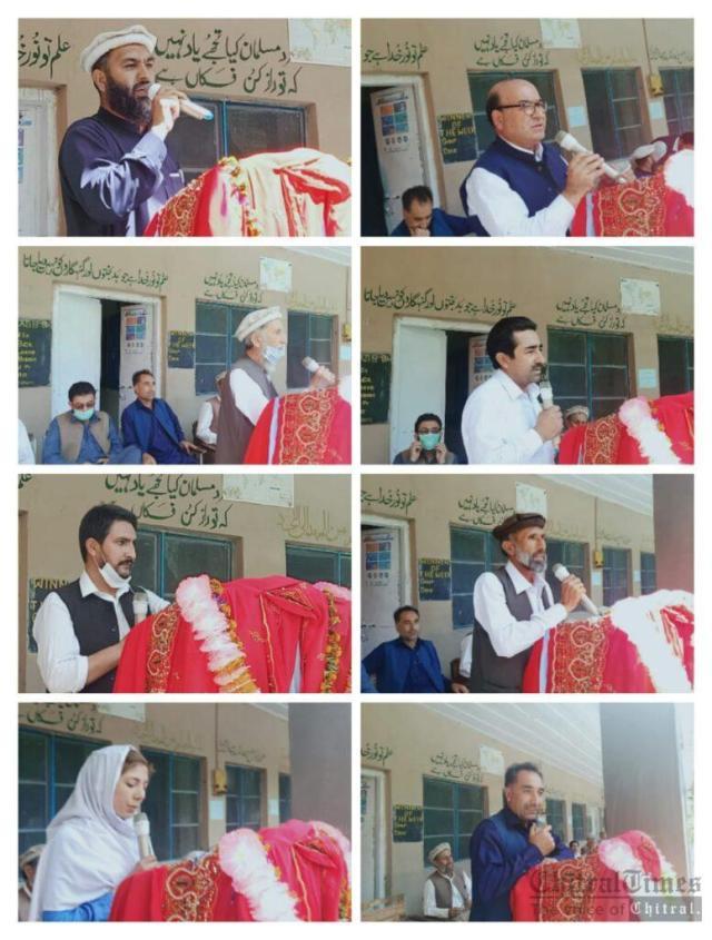 chitraltimes gms muzhgole program farewell for HM habib 3