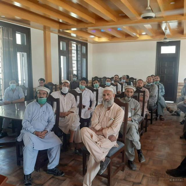 chitraltimes upper chitral employes meeting 3